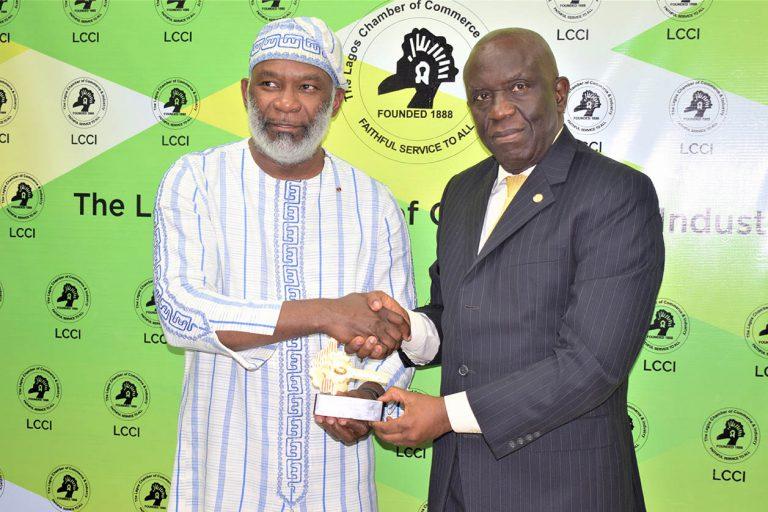 Benin Chambers Visit