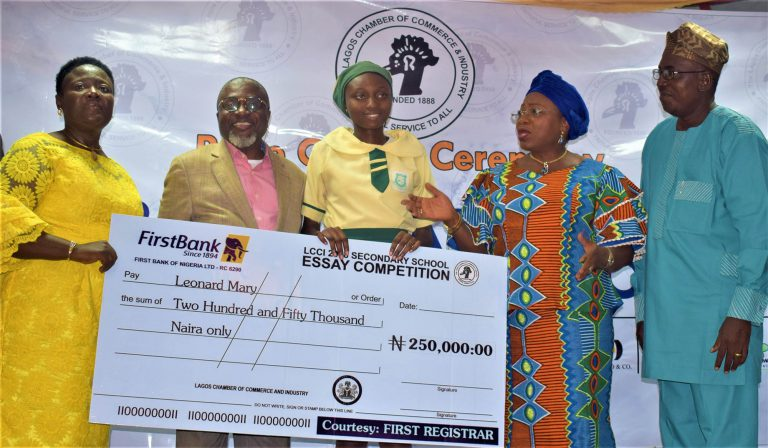 2018 LCCI Secondary School Essay Competition