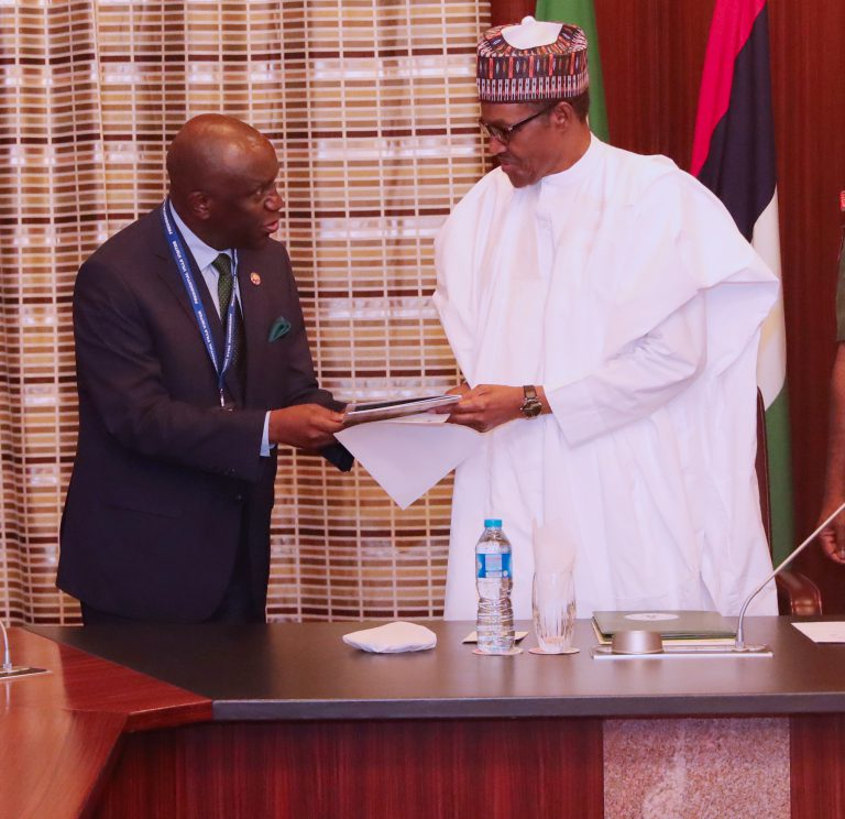 A Courtesy Visit to the President of Nigeria