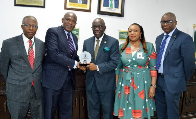 LCCI Courtesy visit to Bank of Industry Head Office in Lagos