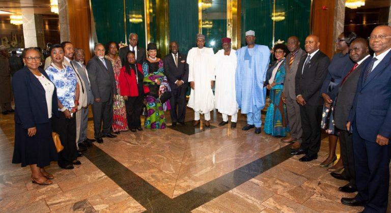 LCCI Courtesy visit to President Muhammadu Buhari