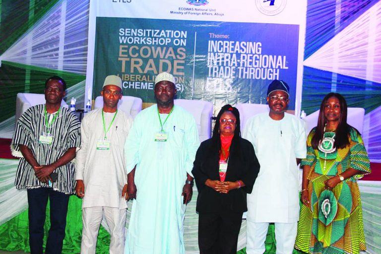 Sensitisation Workshop on the ECOWAS Trade Liberalisation Scheme in Lagos