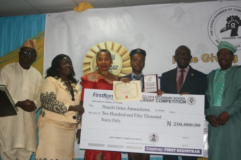 2019 LCCI Essay Competition Prize-Giving Event