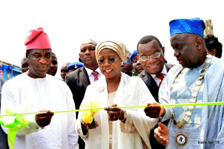 Opening Ceremony of the 33rd Edition of the Lagos International Trade Fair which took place on Friday 1st November 2019 at the Tafawa Balewa Square, Lagos