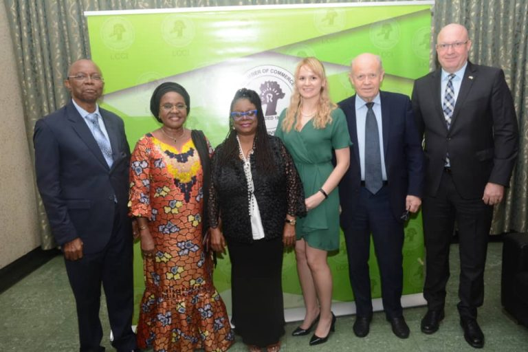 Diplomatic Luncheon organised by the Lagos Chamber of Commerce and Industry in Lagos