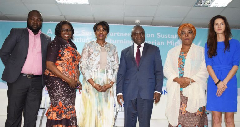 Private Sector Partnership on the Sustainable Reintegration of Returning Nigerian Migrants