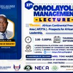 37th Omolayole Management Lecture Series