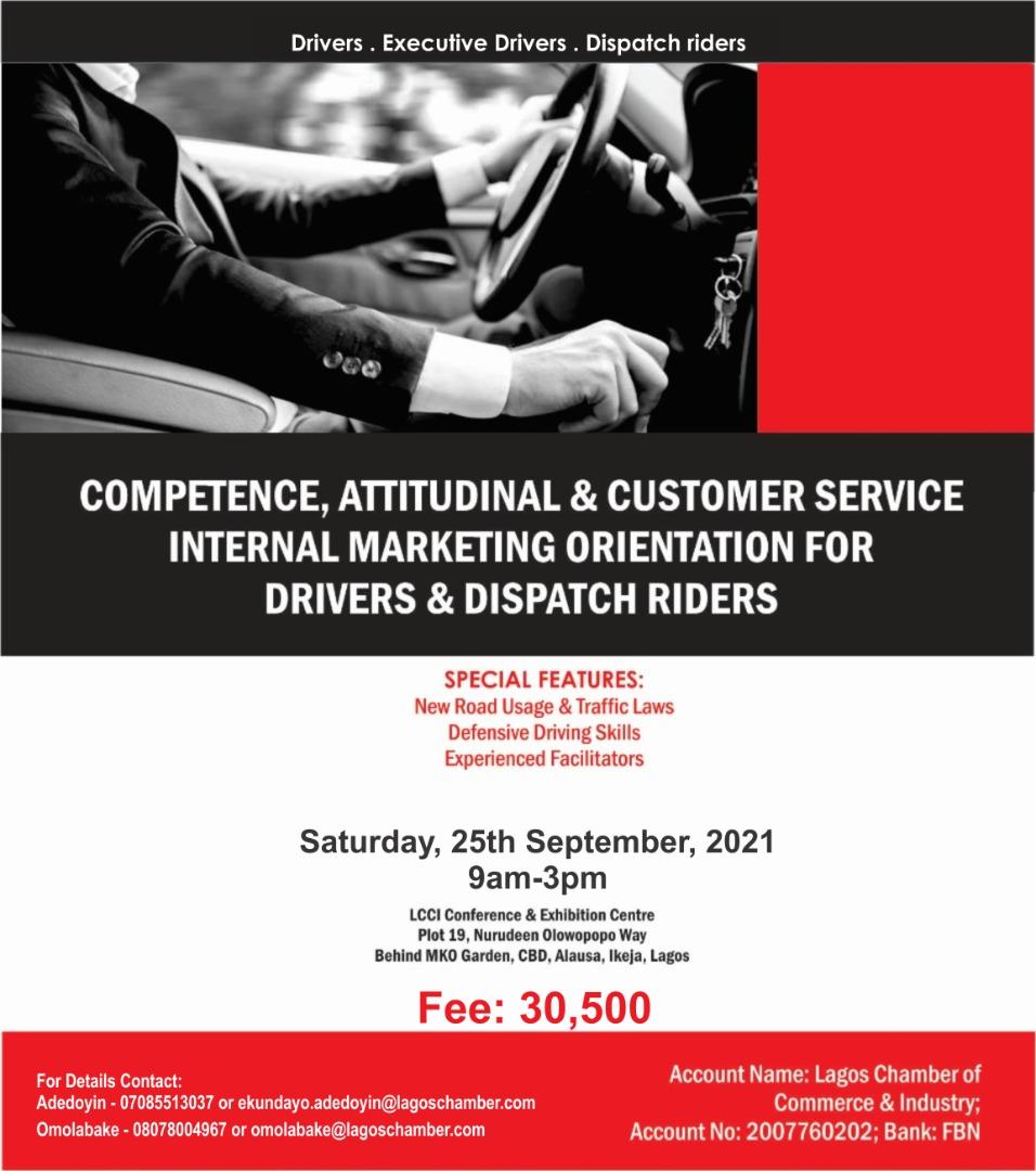 Competence, Attitudinal & Customer Service Internal Marketing Orientation For Drivers & Dispatch Riders