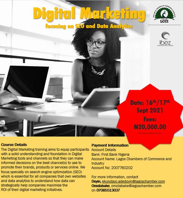 Digital Marketing Focusing on SEO and Data Analytics