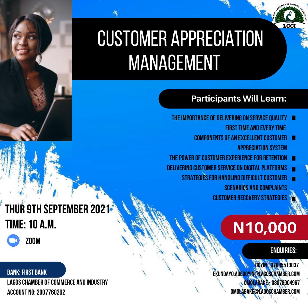 Customer Appreciation Management