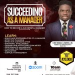 Succeeding as a Manager