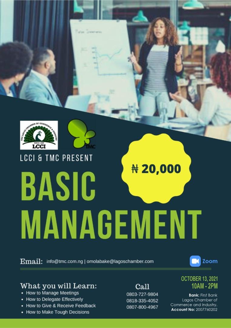 Basic Management