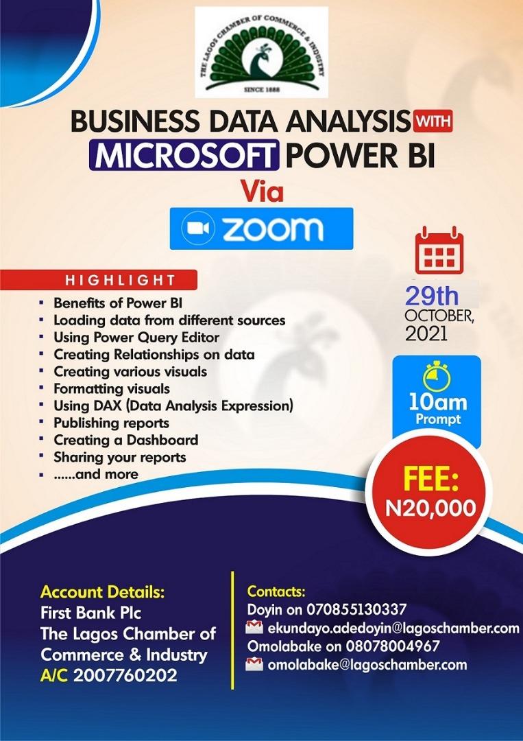 BUSINESS DATA ANALYSIS WITH MS POWER BI