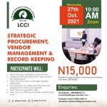 Procurement, Vendor Management & Record Keeping